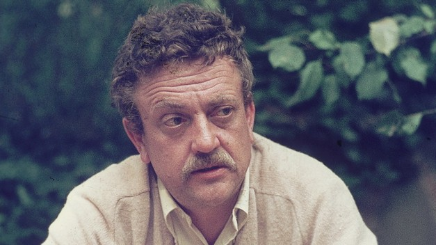 """Perhaps, when we remember wars, we should take off our clothes and paint ourselves blue and go on all fours all day long and grunt like pigs. That would surely be more appropriate than noble oratory and shows of flags and well-oiled guns."" — Kurt Vonnegut, Cat's Cradle"