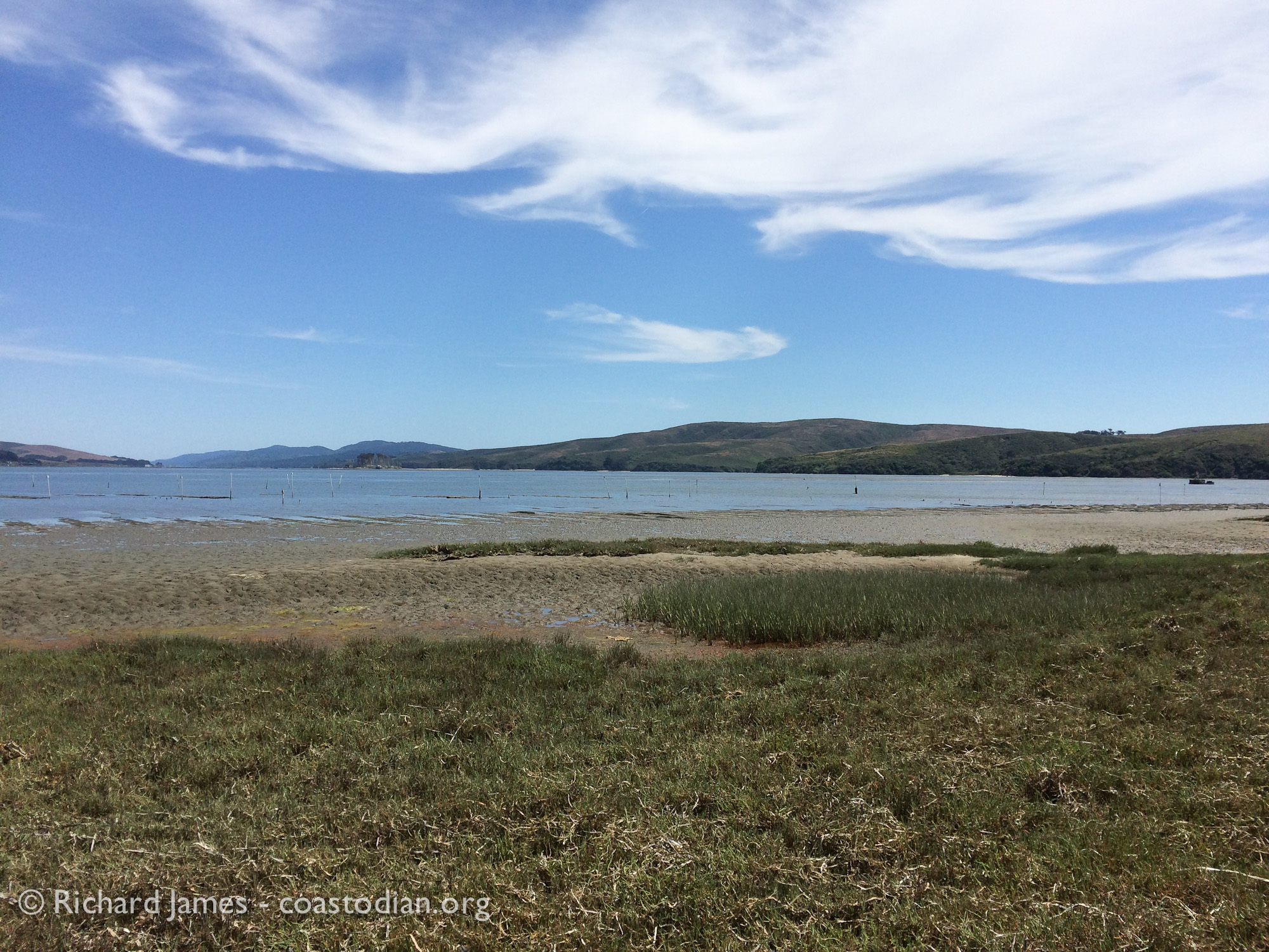 View of Tomales Bay from Tom's Point